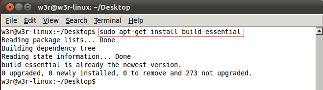 c install linux