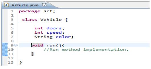 java default access level