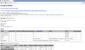 mongodb web interface