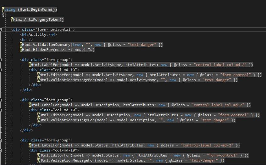 asp.net html helpers