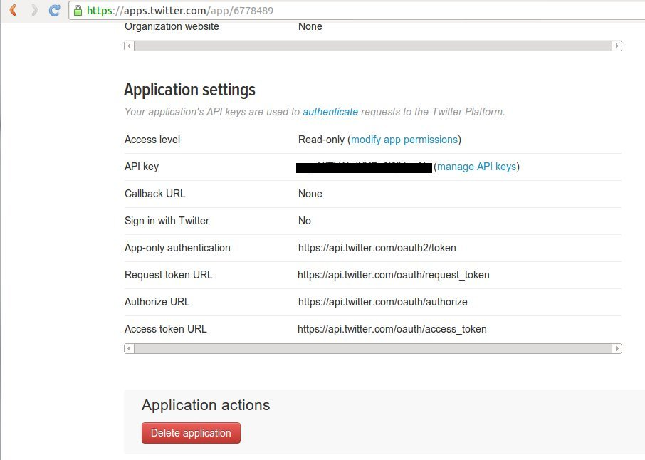 Twitter REST API tutorial | w3resource