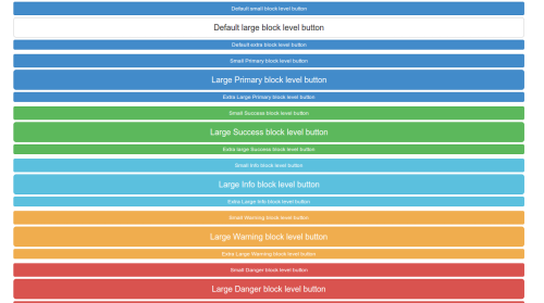 Block level buttons