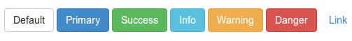 Default buttons Bootstrap 3