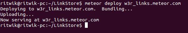 Deploy Meteor