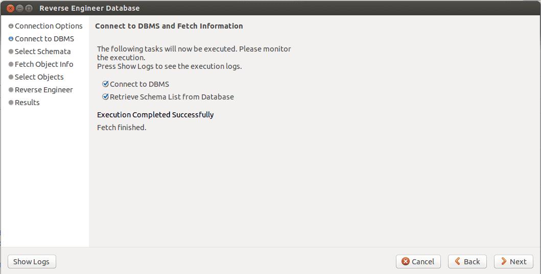 MySQL Workbench eer step 2