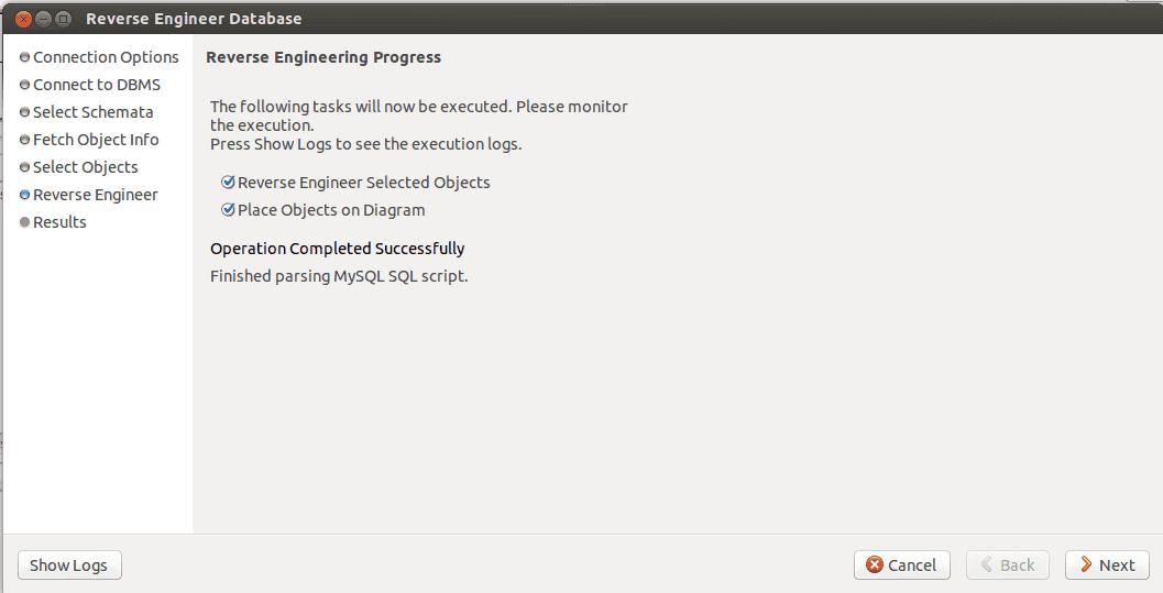 MySQL Workbench eer step 6