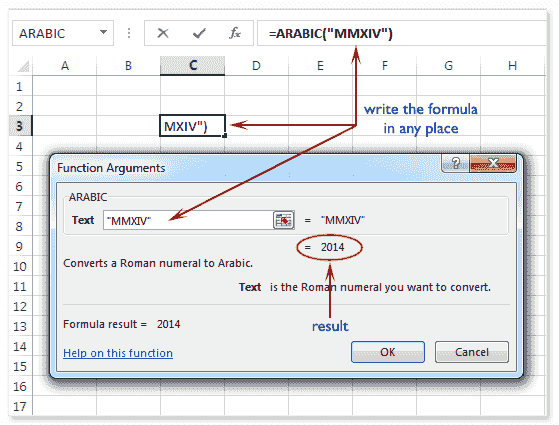 Mathematical Functions - Excel 2013 - w3resource