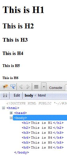 html-headings
