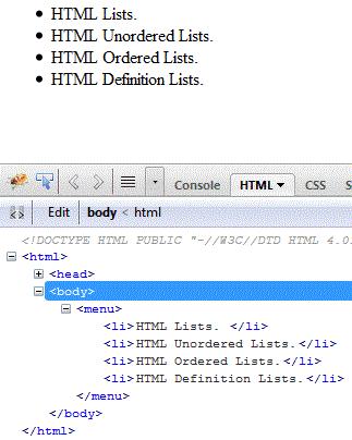 html-menu-tag