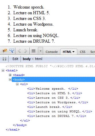 html-ol-tag