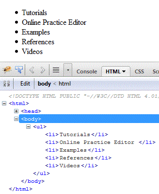 Easy html nested lists tutorial with examples tutzi.