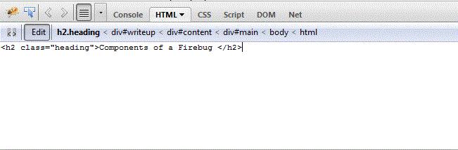 inspect html firebug 1