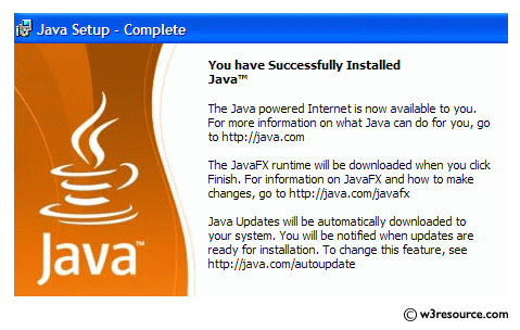 Java: Check whether Java is installed on your computer