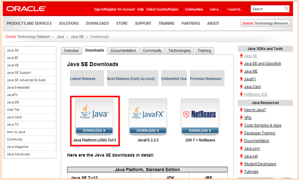 Download and Install JDK, Eclipse (IDE) image 1