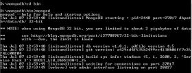 mongodb run windows command