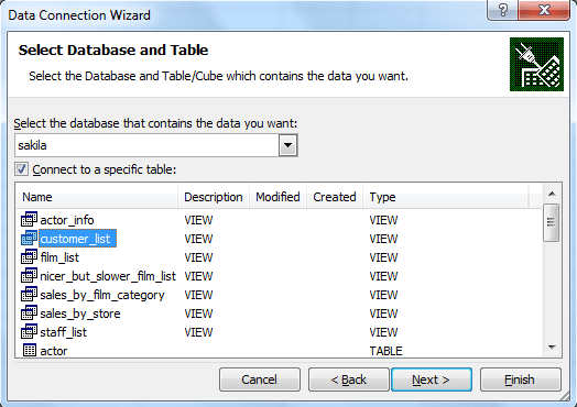 MySQL ODBC Connector - w3resource
