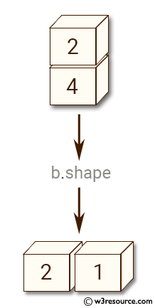 NumPy manipulation: expand_dims() function