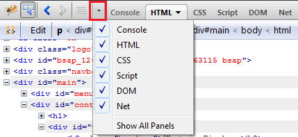 panel-selector