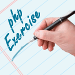 php Programming Exercies