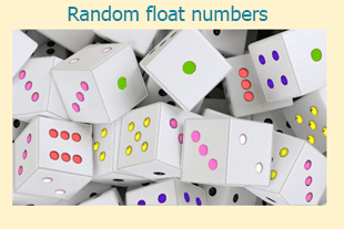 PHP Math Exercises: Get random float numbers