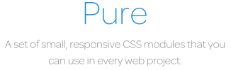 Pure CSS Layout