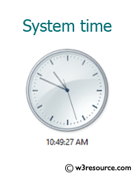 Get the system time