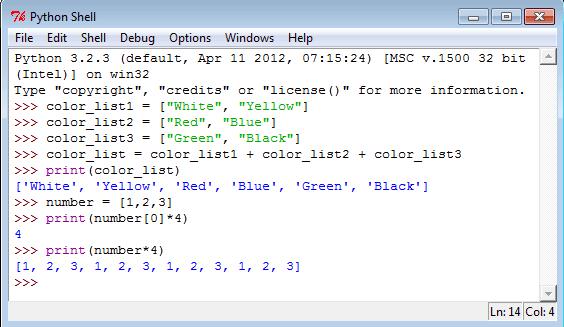 Python Data Type - w3resource