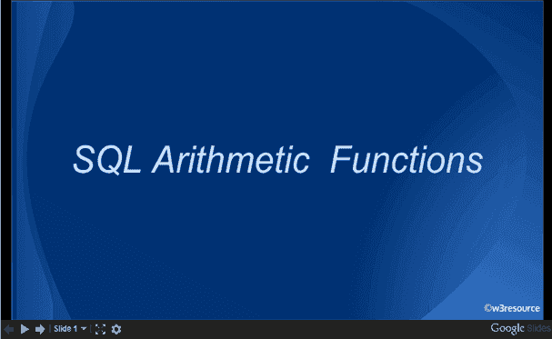 QL Arithmetic Functions