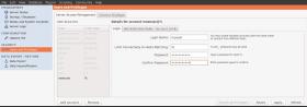 MySQL Workbench user privileges step 1